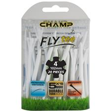 Champ Golf Zarma FLYTee 4 Inch Tees - 20 CT