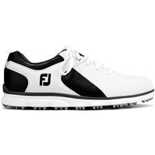 FootJoy White-Black-Silver Pro/SL Previous Season Style Golf Shoes
