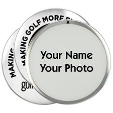 Golfballs.com Photo Ball Markers - 3 Pack