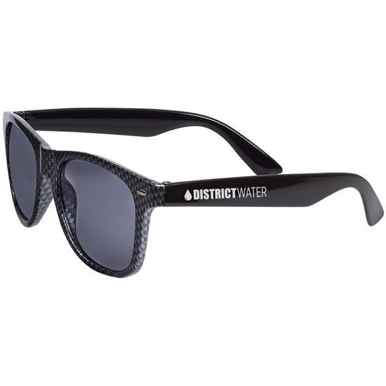Logo Carbon Fiber Retro Sunglasses
