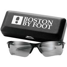 Logo Custom Logo Slazenger Tour Sunglasses with Carrying Case