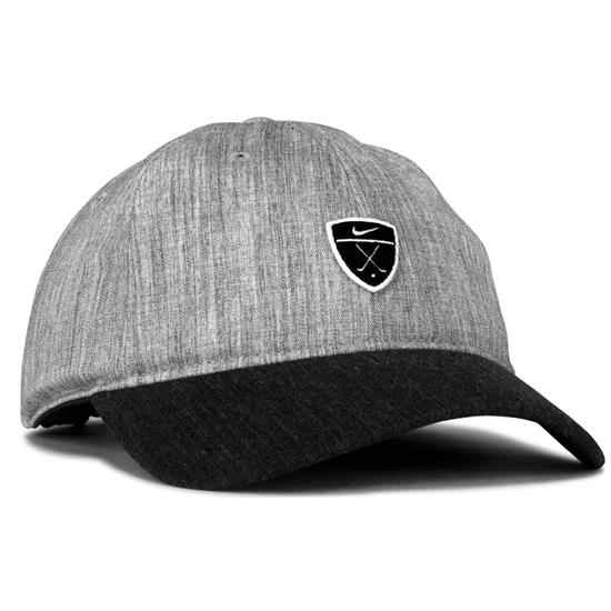 d37247b4a72 Nike Men s Dri-FIT Heritage 86 Golf Hat - Charcoal Heather-Charcoal ...