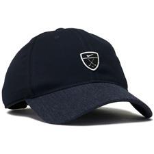 Nike Men's Dri-FIT Heritage 86 Golf Personalized Hat - Obsidian-Obsidian Heather-Black