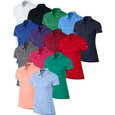 Nike Custom Logo Short Sleeve Dry Polo for Women