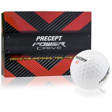Precept Power Drive Custom Express Logo Golf Balls