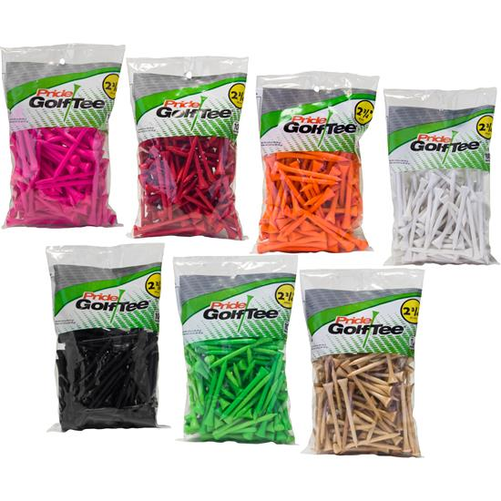Pride Sports Deluxe 2-3/4 Inch Tees - 100 Count