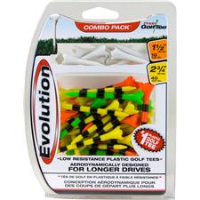 Pride Sports Evolution Fruit Mix Striped Golf Tees - 50 CT