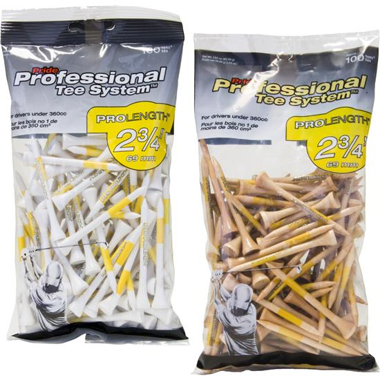 Pride Sports Professional Tee System 2-3/4 Inch Tees - 100 CT