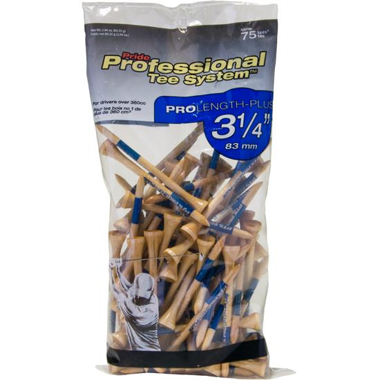 Pride Sports Professional Tee System 3-1/4 Inch Tees - 75 Count