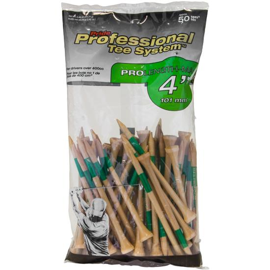 Pride Sports Professional Tee System 4 Inch Tees - 50 Count