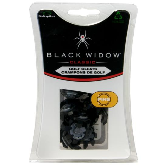 Softspikes Black Widow Golf Spikes - PINS