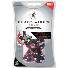 Softspikes Black Widow Tour Golf Spikes - Fast Twist