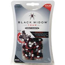 Softspikes Black Widow Tour Golf Spikes - Q-LOK