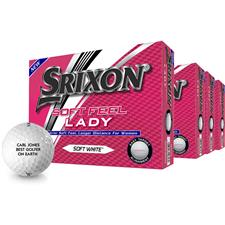 Srixon Soft Feel Lady Personalized Golf Balls - Buy 3 Get 1 Free