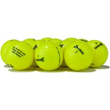 Srixon Logo Overrun Soft Feel Yellow Golf Balls