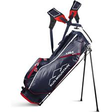 Sun Mountain 2.5+ Stand Bag - Navy-White-Red