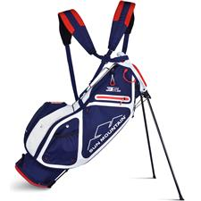 Sun Mountain 3.5 LS Stand Bag - Navy-White-Red