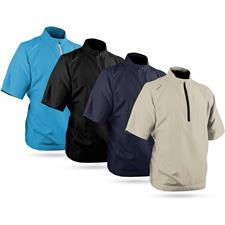 Sun Mountain Men's Brushed Solo Short Sleeve Pullover