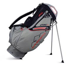 Sun Mountain C-130S Stand Bag - Cement-Black-Red