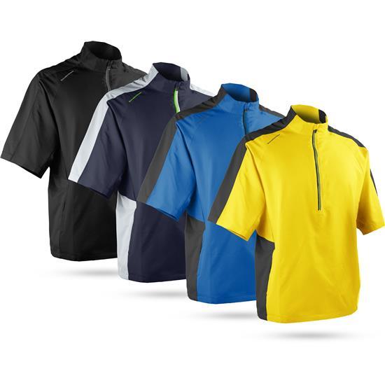 Sun Mountain Men's Headwind Short Sleeve Pullover