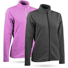 Sun Mountain Heathered Fleece Jacket for Women