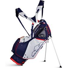 Sun Mountain Supercharged 4.5LS Stand Bag - Navy-White-Red