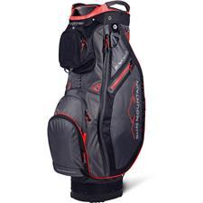Sun Mountain Sync Cart Bag - Gunmetal-Black-Red