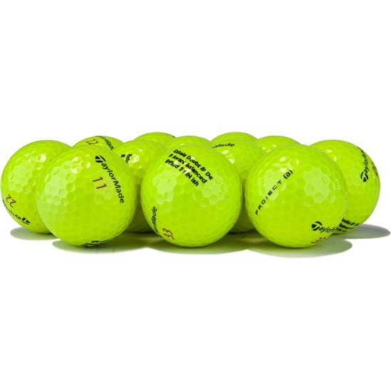 Taylor Made Prior Generation Project (a) Yellow Golf Balls
