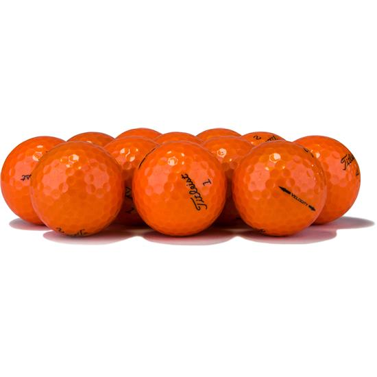 Titleist Velocity Orange Overrun Golf Ball