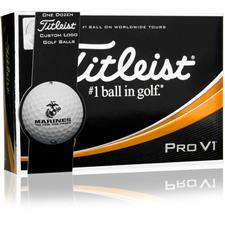 Titleist Pro V1 Military ID-Align Golf Balls - US Marines