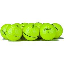 Titleist Logo Overrun Tour Soft Yellow Golf Balls