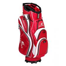 Tour Edge Exotics Extreme 4 Cart Bag - Red-White