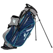 Tour Edge Exotics Xtreme 4 Stand Bag for Women - Navy-Scratch Plaid-Teal