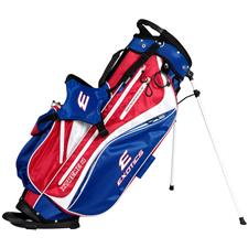 Tour Edge Exotics Xtreme 4 Stand Bag - Red-White-Blue