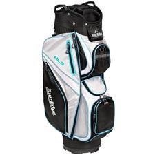 Tour Edge Hot Launch 3 Cart Bag for Women - Black-Silver-Blue