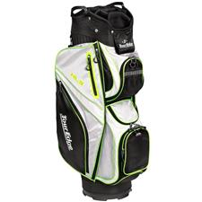 Tour Edge Hot Launch 3 Cart Bag for Women - Black-Silver-Lime