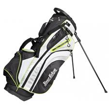 Tour Edge Hot Launch 3 Stand Bag for Women - Black-Silver-Lime