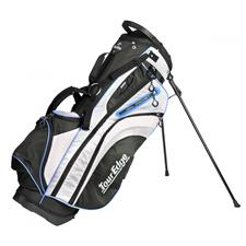 Tour Edge Hot Launch 3 Stand Bag for Women - Black-Silver-Blue