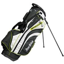 Tour Edge Hot Launch 3 Stand Bag - Black-Silver-Lime