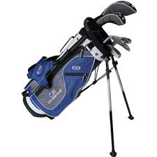 U.S. Kids Ultralight 51 Inch 6-Club DV2 Stand Bag Set