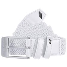 Under Armour Braided Belt 2.0 - White - Size 34