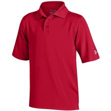 Under Armour Red Performance Polo for Juniors