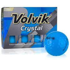 Volvik Crystal Blue Personalized Golf Balls