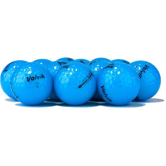 Volvik Prior Generation Crystal Blue Golf Balls