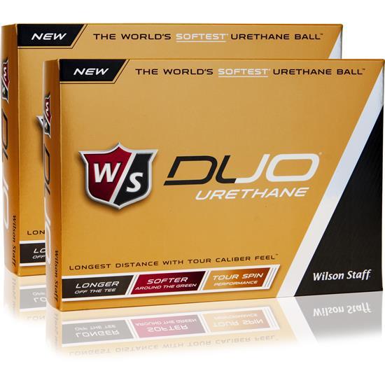 Wilson Staff Duo Urethane Golf Balls - 2 Dozen