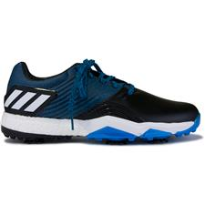Adidas Blue-Black-Shock Yellow Adipower 4orged Golf Shoes