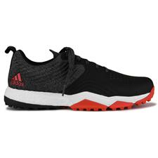 Adidas Black-Red-White Adipower 4orged Sport Golf Shoes