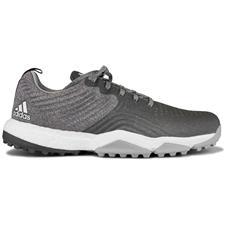Adidas Grey-Grey-Raw Amber Adipower 4orged Sport Golf Shoes