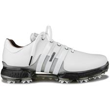 9ad5c8c4b123f6 Adidas White-White-Trace Grey Metallic Tour 360 Boost 2.0 Golf Shoes