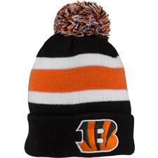Bridgestone Men's NFL Cuff Knit Beanie - Cincinnati Bengals